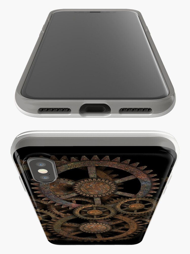 Alternate view of Infernal Vintage Steampunk Gears on your Gear iPhone Cases & Covers