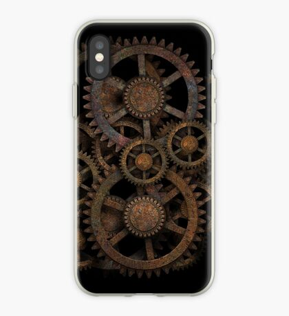 Infernal Vintage Steampunk Gears on your Gear iPhone Case