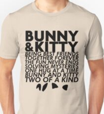 Bunny & Kitty Unisex T-Shirt