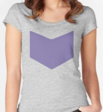 hawkguy logo Women's Fitted Scoop T-Shirt
