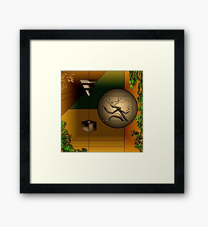 A Room For Thoughts Framed Print