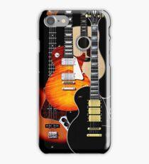 Four guitars phone cases iPhone Case/Skin