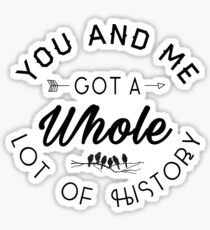 History One Direction Stickers | Redbubble