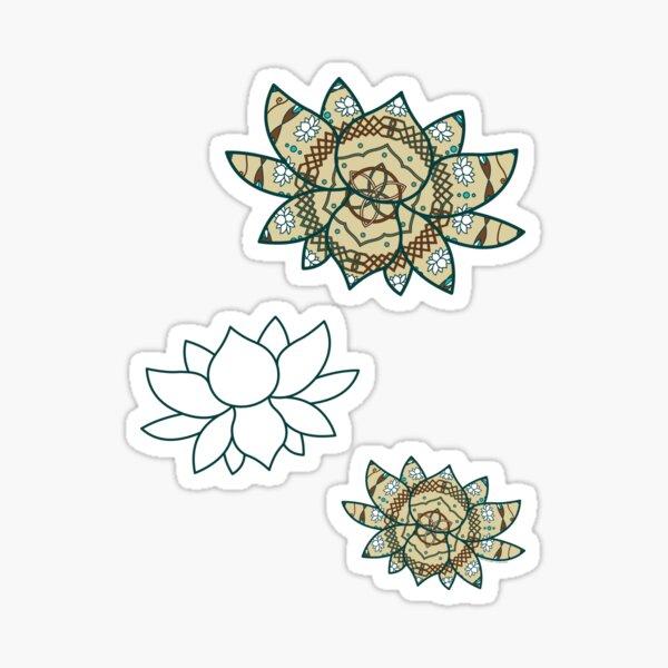 The Lotus Sticker