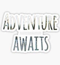 Adventure Awaits Sticker
