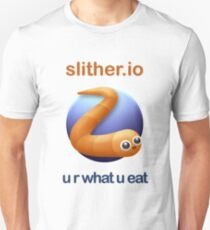 Slither.io - u r what u eat Unisex T-Shirt