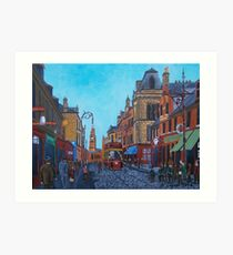 Greenock of Old, Cathcart St Art Print