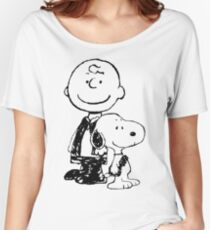 Peanuts meets Star Wars Women's Relaxed Fit T-Shirt