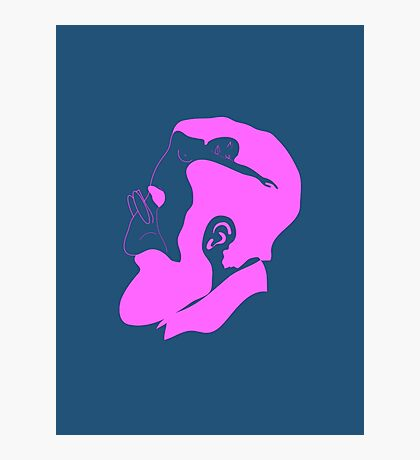 Pink Freud Photographic Print
