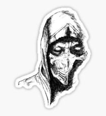Scorpion Mortal Kombat X Sticker