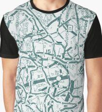 Infinite road green  Graphic T-Shirt