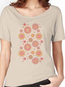 Flower Mandalas Women's Relaxed Fit T-Shirt