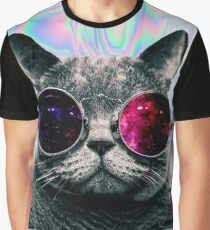 TUMBLR CAT Graphic T-Shirt
