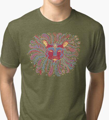 Paisley Lion Tri-blend T-Shirt