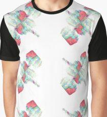 Aladdin Sane Middle Finger Graphic T-Shirt