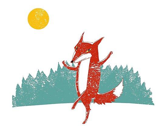 Fox dance  by SusanSanford