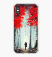 화양연화 - Dead Leaves iPhone Case