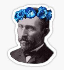 Blue Van Gogh Sticker