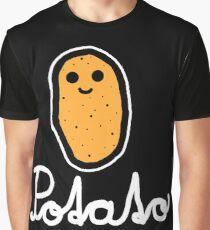 Potato (White) Graphic T-Shirt