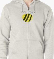 Bumble Bee Zipped Hoodie