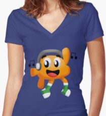 Darwin Watterson Women's Fitted V-Neck T-Shirt
