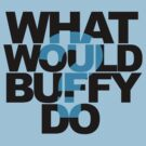 What Would Buffy Do? by Jo Alfie Wimborne