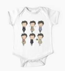The Many Faces of Castiel One Piece - Short Sleeve