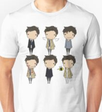 The Many Faces of Castiel T-Shirt