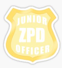 Junior ZPD Officer  Sticker