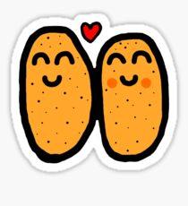 Two Potatoes Sticker
