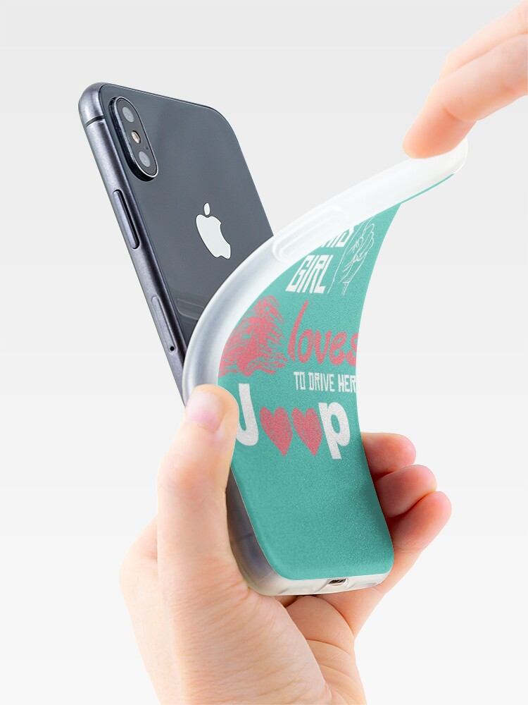 Alternate view of Jeep Love iPhone Case & Cover