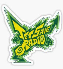Jet Save Radio Sticker