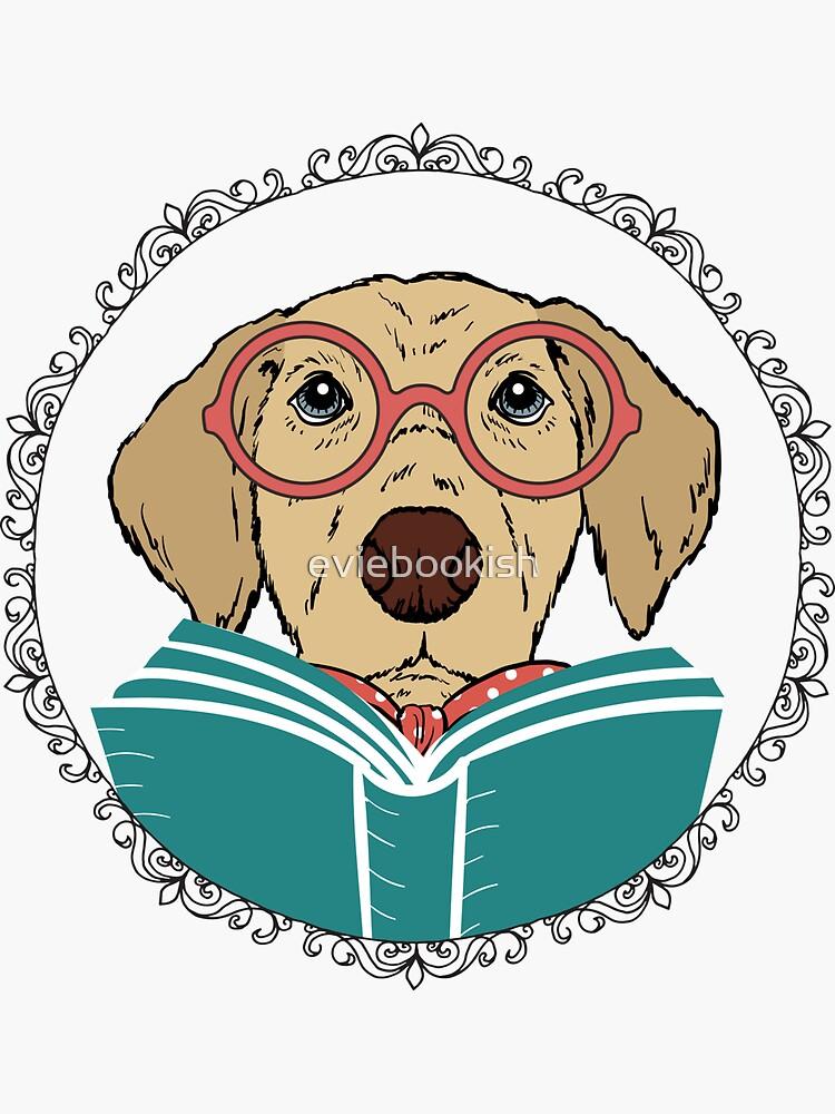 Perro de lectura de eviebookish