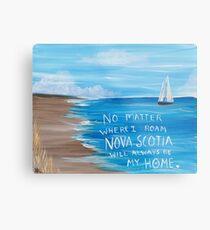 Nova Scotia Sailboat  Metal Print