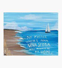 Nova Scotia Sailboat  Photographic Print