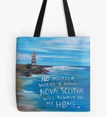 Nova Scotia Lighthouse Tote Bag