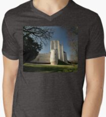 Donjon, Medieval City, Loches, France, Europe 2012 Men's V-Neck T-Shirt