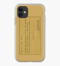 Eternal Sunshine Memory Loss iPhone Case