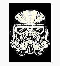 Space Soldier Helmet Photographic Print