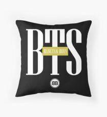 BTS/Bangtan Boys Stussy-inspired Logo/Text Throw Pillow