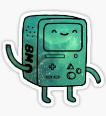 BMO (Beemo) - Galaxy Edition Sticker