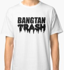 BTS/Bangtan Boys Trash Text Classic T-Shirt