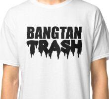 BTS/Bangtan Boys Trash Text Classic T-Shirt