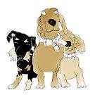 Leo, Freddie and Coco by Matt Mawson