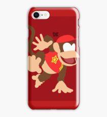 Diddy Kong - Super Smash Bros. iPhone Case/Skin