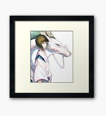 Haku the Dragon  Framed Print