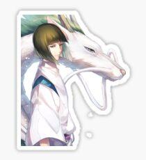 Haku the Dragon  Sticker