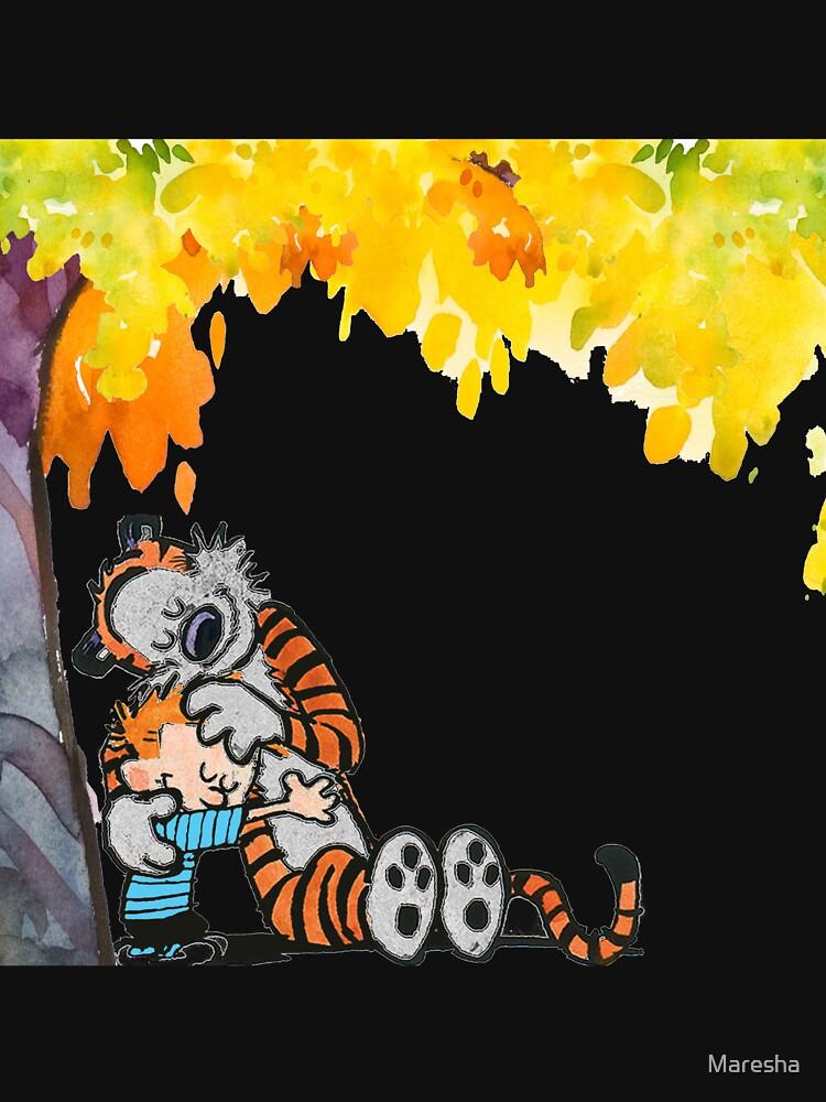 Camisetas y sudaderas «Calvin y Hobbes bajo el árbol» de Maresha ...