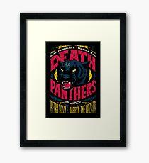 Death Panther Framed Print