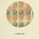 My little cactus by peachtea